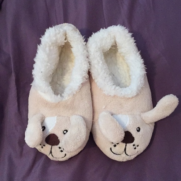sz House Shoes New with Tags 6 Puppy Toddler Slippers